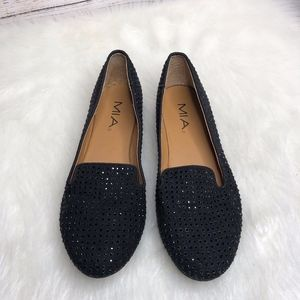 Mia Black Loafers | Size 8.5